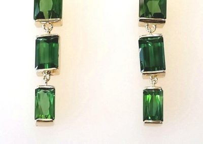 tourmaline errings